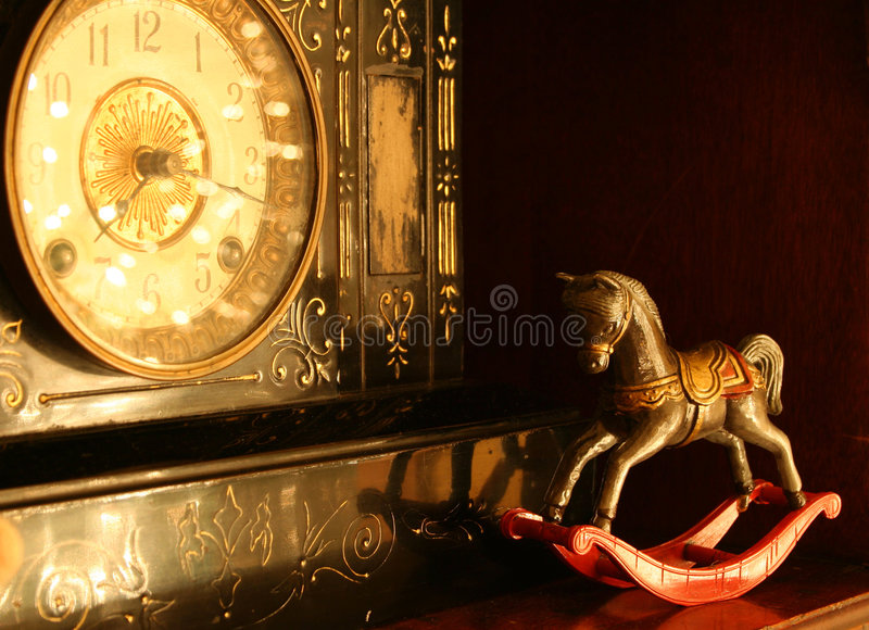 Antique Shop Objects royalty free stock photo