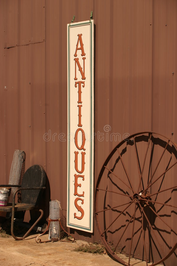 Antique Sign stock images