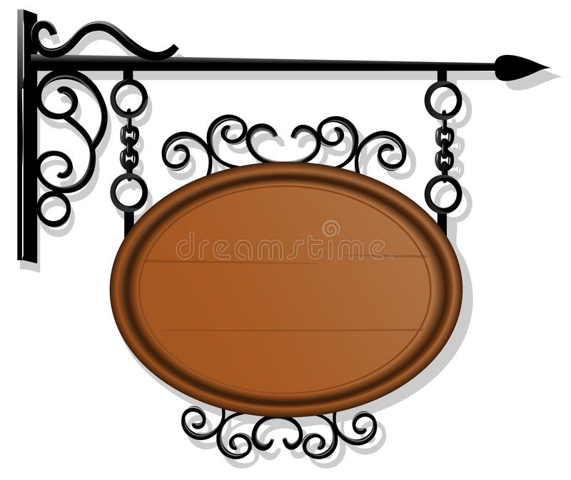 Download Antique Signboard Stock Photography - Image: 22986982