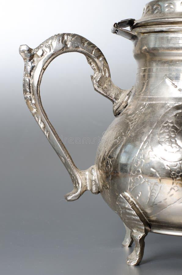 Free Antique Silver Jug Detail Stock Image - 44621371