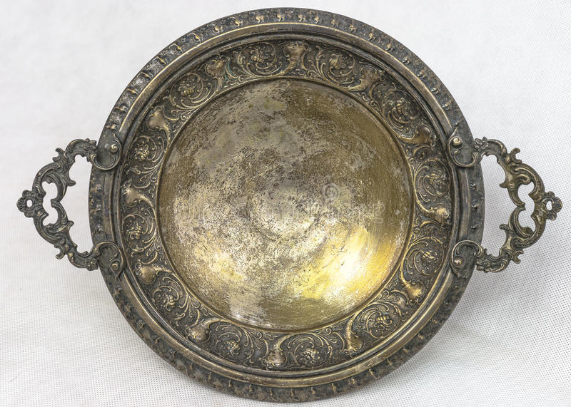 Download Antique silver plate stock image. Image of background - 36805575 & Antique silver plate stock image. Image of background - 36805575