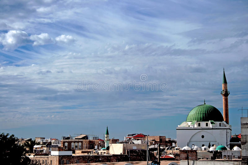 Antique Sinan basha mosque stock photos