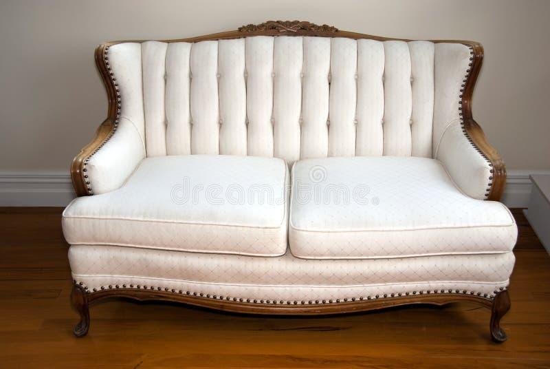 Antique sofa royalty free stock photo
