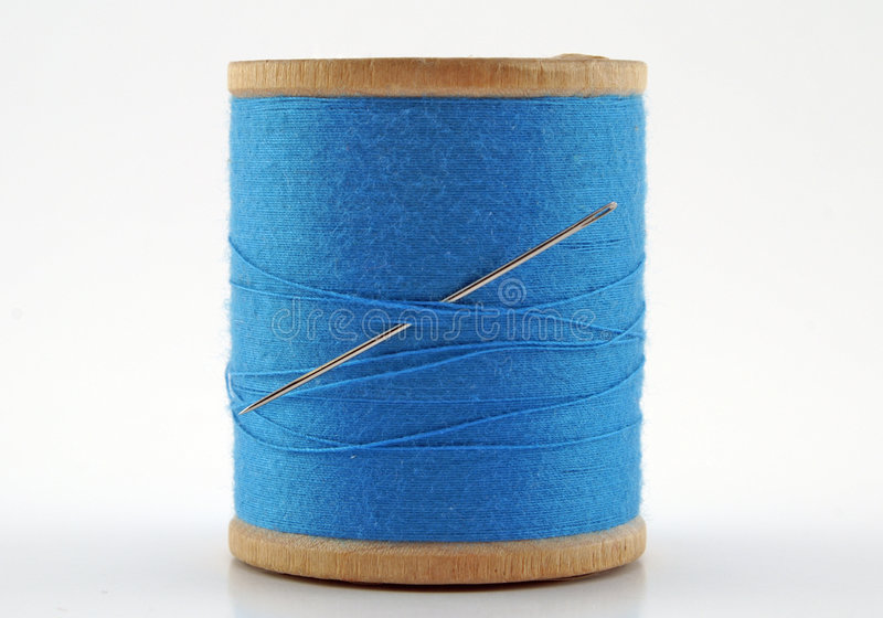 Download Antique Spool Of Thread Royalty Free Stock Photography - Image: 1701487