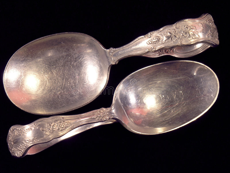 Download Antique Spoons (2) Royalty Free Stock Photography - Image: 39827