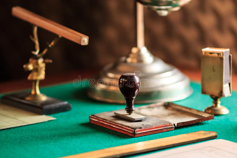 Antique stamp royalty free stock images