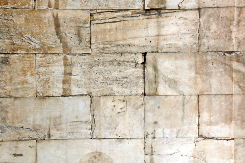 ANTIQUE STONES AND MARBLE USED AT CONSTRUCTION, ACROPOLIS RUINS, GREECE. ANTIQUE STONES,BRICKS AND MARBLE USED FOR BUILDINGS,CONSTRUCTIONS AT ACROPOLIS RUINS stock photos