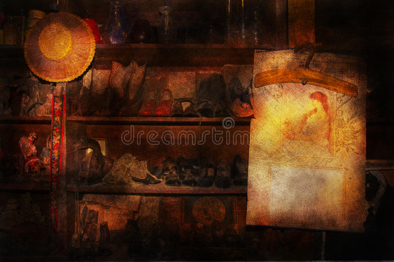 Download Antique store stock image. Image of grungy, store, antique - 21816895