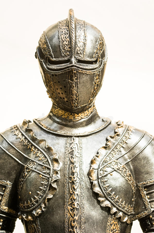 Antique suit of armor royalty free stock photos image for Armor decoration