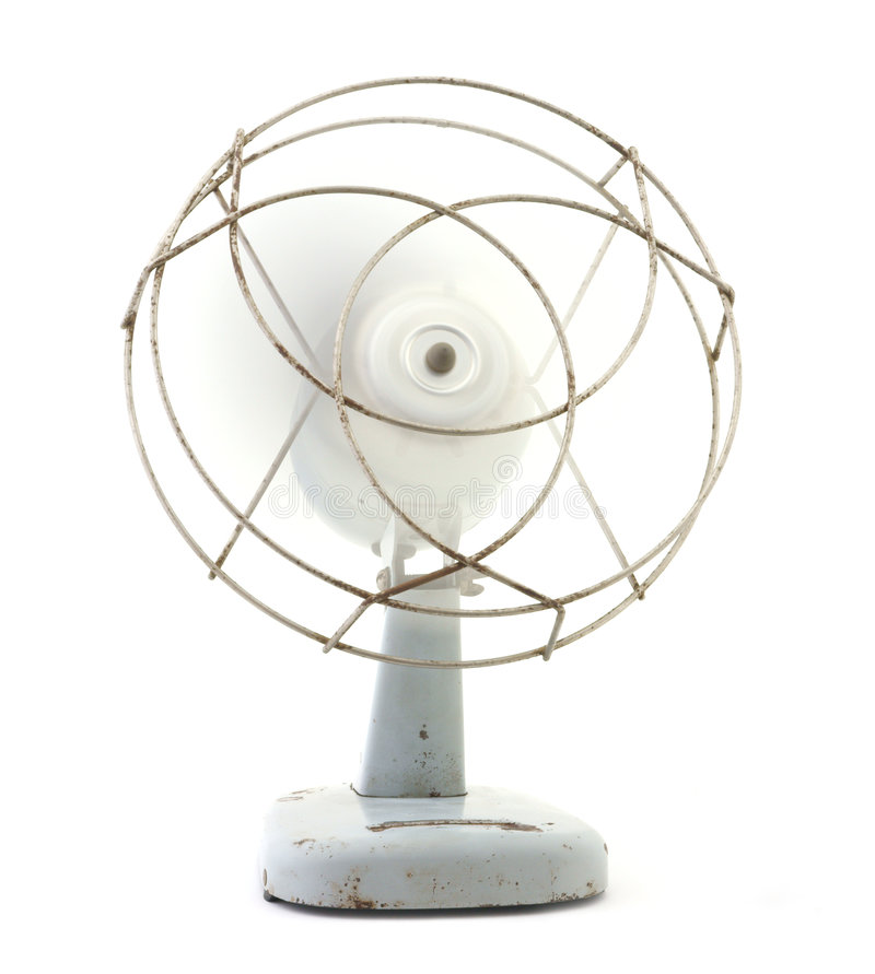 Antique table fan royalty free stock photo