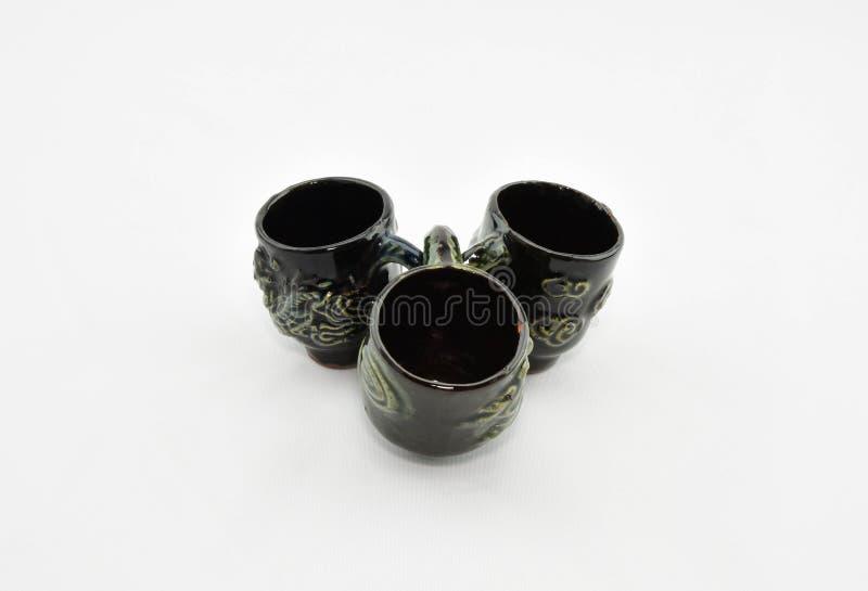 Antique tea cup stock photos