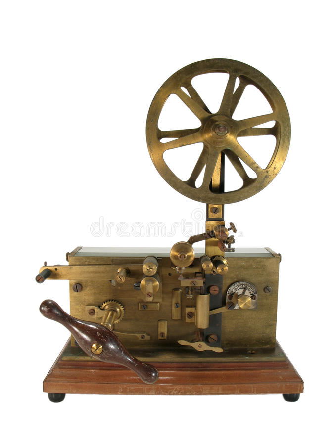 Download Antique telegraph isolated stock image. Image of ancient - 11927545