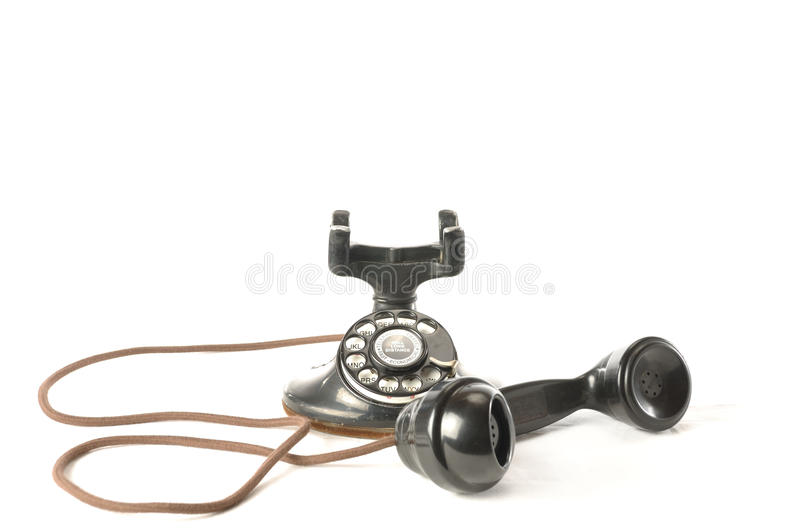Antique Telephone stock photography