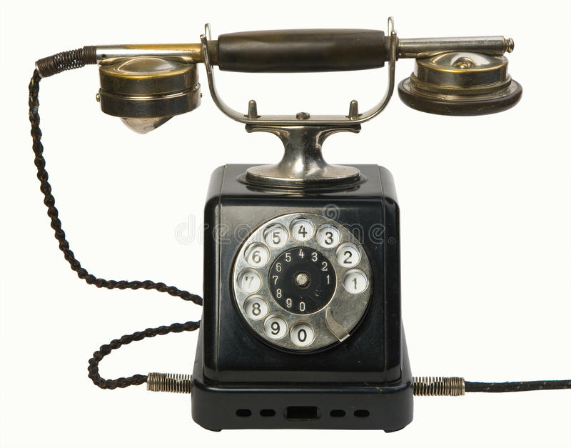 Download Antique telephone stock photo. Image of vintage, dial - 23735110