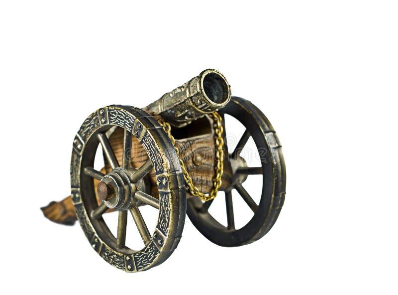 Antique Toy Cannon stock photos