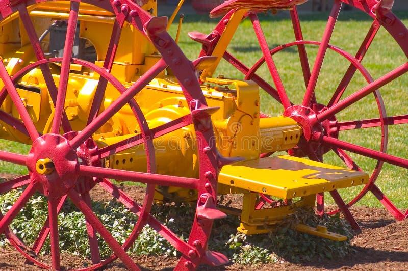Antique Tractor Free Stock Photo