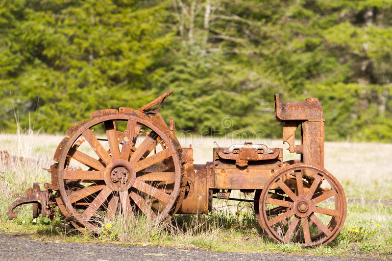 Antique Tractor royalty free stock image