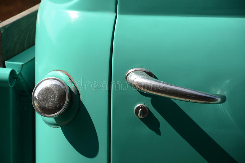 Antique truck detail royalty free stock images