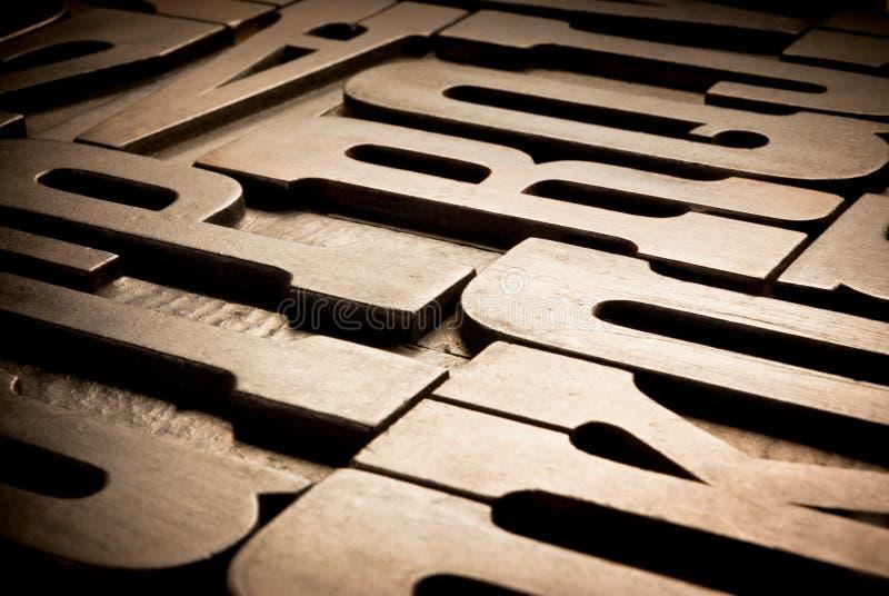 Download Antique Typographic Blocks Stock Photography - Image: 26895502