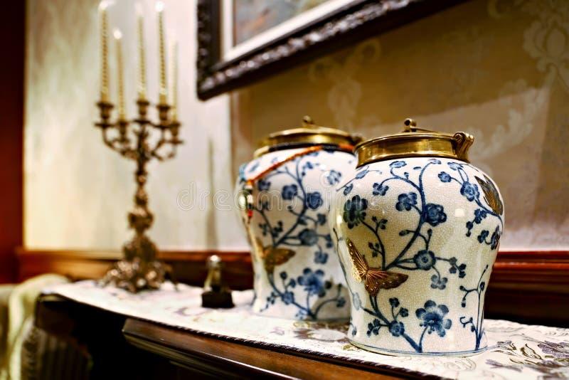 Antique vase stock photo