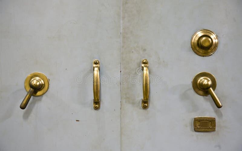 Antique Vault Door Stock Photos