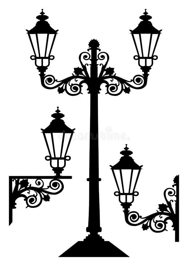 Download Antique Vector Street Lights Stock Vector - Image: 11083676
