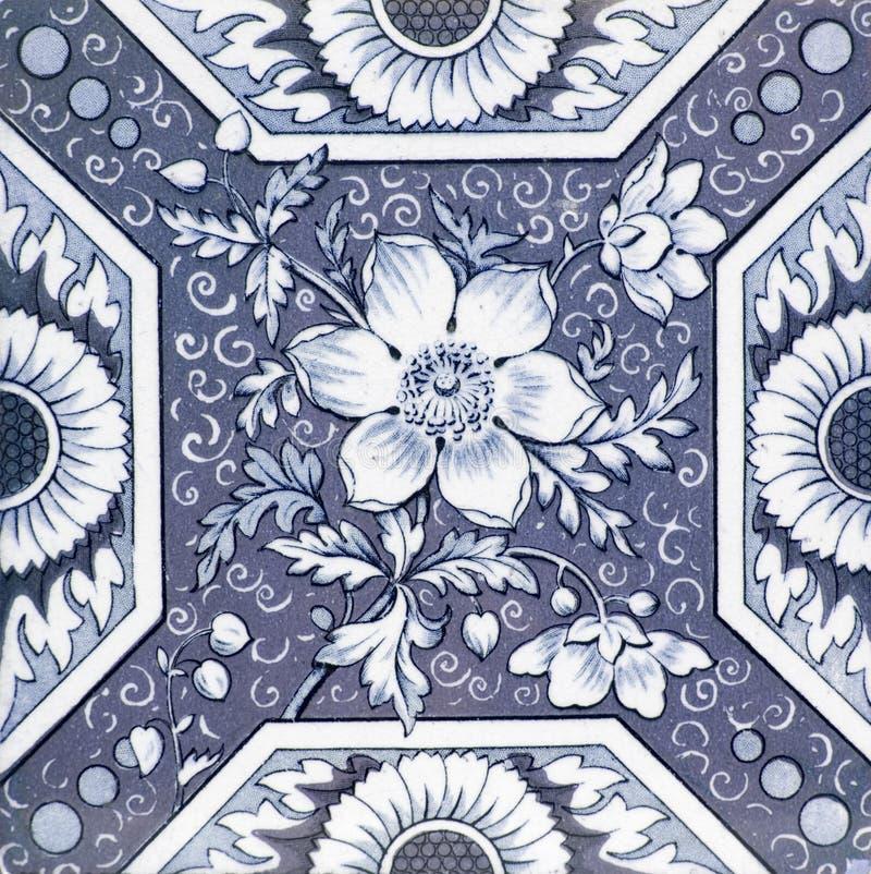 Free Antique Victorian Tile Stock Image - 4064951