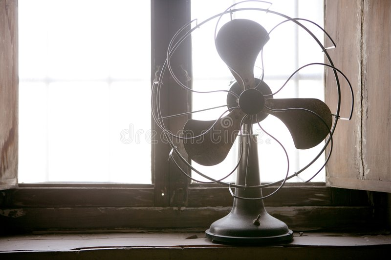 Download Antique Vintage Air Fan Royalty Free Stock Photo - Image: 7451505
