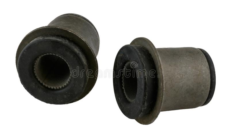 Antique vintage american automobile control arm bushings royalty free stock image