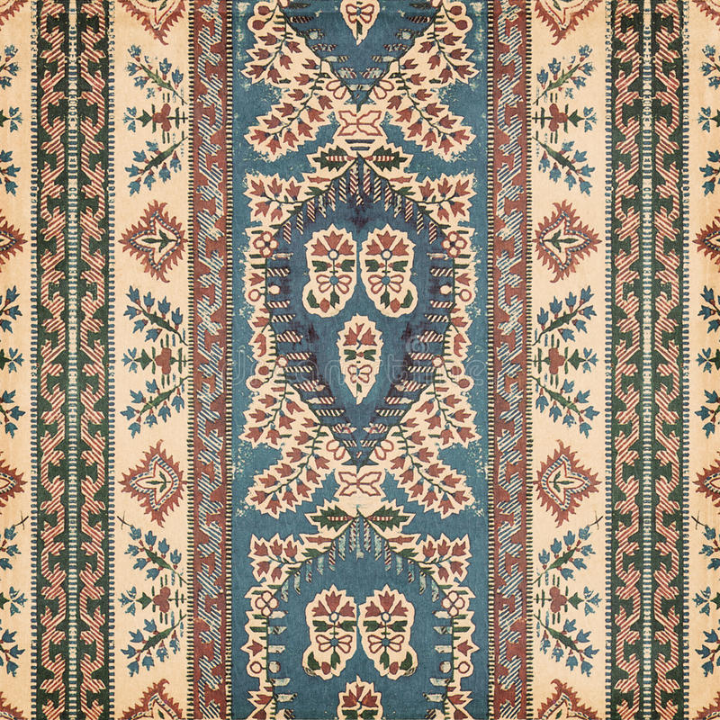 Antique Vintage paisley indian background. Design royalty free stock photography