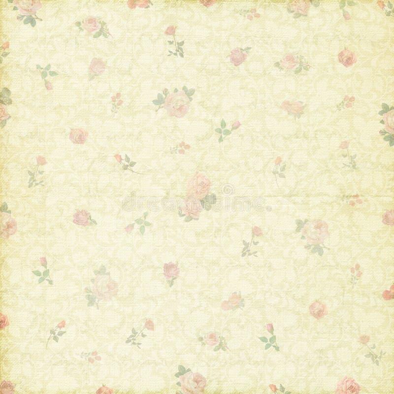 Download Antique Vintage Rose Flower Wallpaper Stock Photo