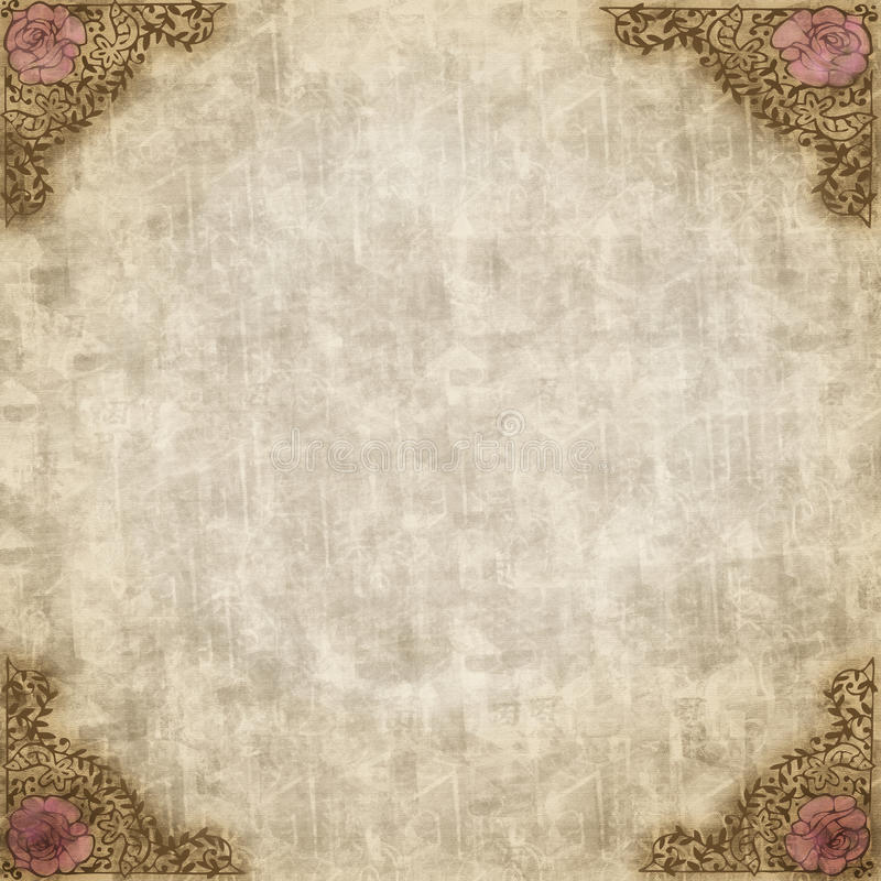 Antique Vintage Style Paper royalty free stock photos