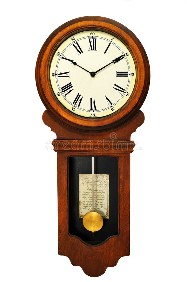 Free Antique Wall Clock Stock Images - 8034284