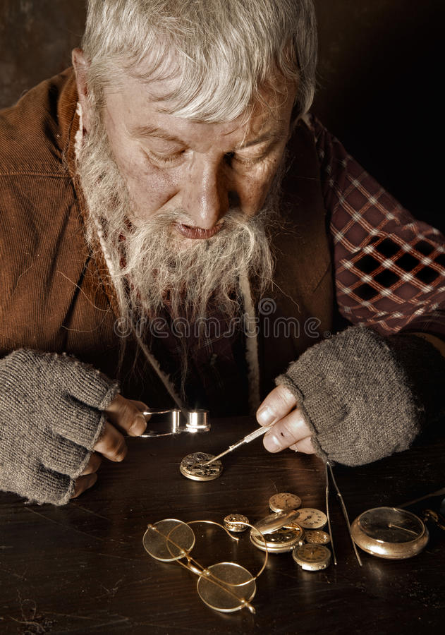 Free Antique Watchmaker Stock Photography - 17157902