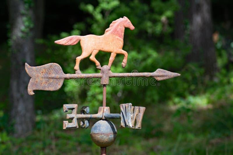 Antique Weathervane stock image