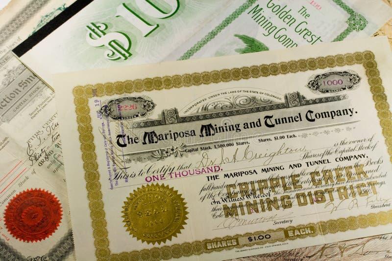 Stock certificate Black Hawk Press blank State of Pennsylvania