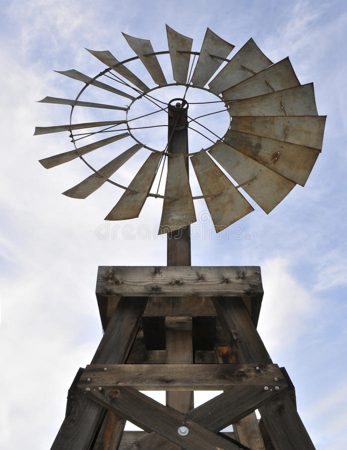An Antique Windmill royalty free stock photography