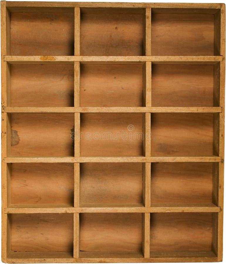 Antique Wood box stock photos