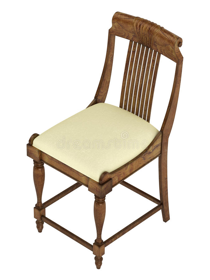 Free Antique Wooden Chair Stock Images - 26333384