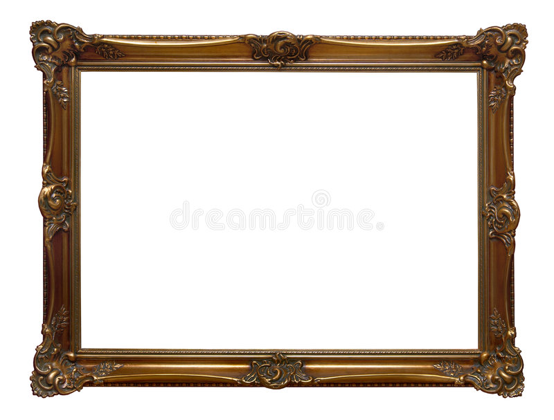 Download Antique wooden frame stock photo. Image of gallery, decoration - 2183772