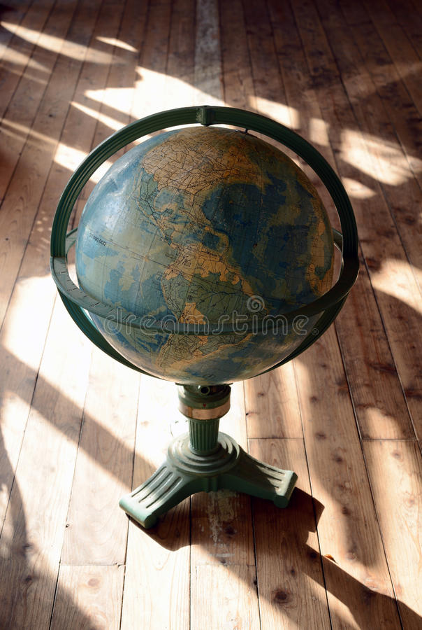 Download Antique world globe stock image. Image of dark, brown - 28172209