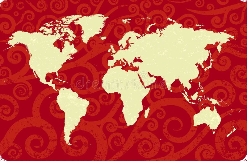Download Antique World Map Royalty Free Stock Photo - Image: 7062355