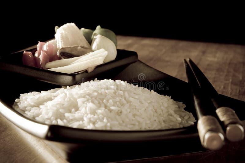 antiqued vegtables риса стоковое фото rf