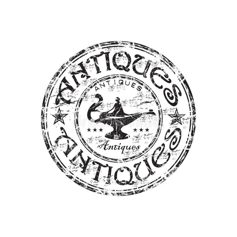 Download Antiques Grunge Rubber Stamp Stock Vector - Image: 10089584
