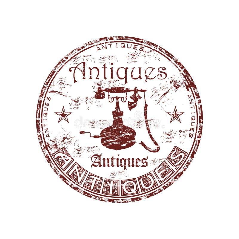 Antiques grunge rubber stamp vector illustration
