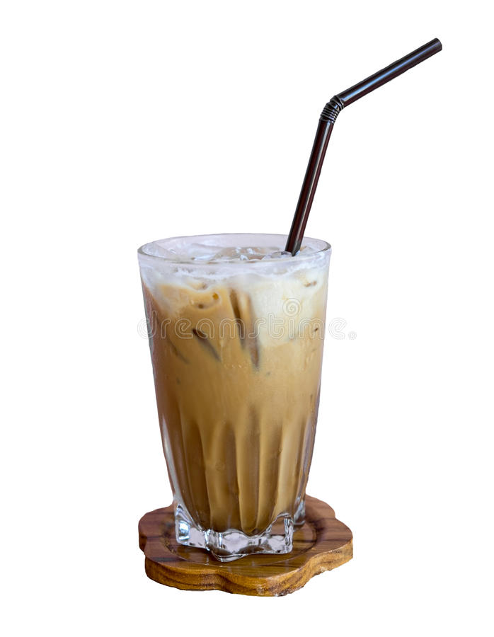 Antiquité de café de glace photographie stock