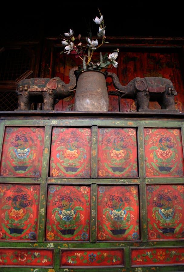Antiquités asiatiques photographie stock libre de droits