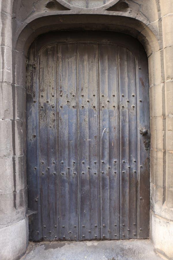 Antiquiteit gesloten deur stock foto