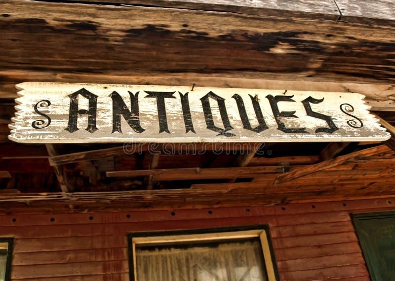 Antiquiteitenteken stock fotografie