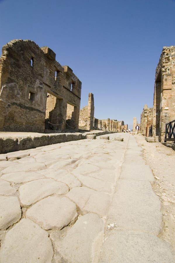 antiquites Πομπηία Ρωμαίος στοκ φωτογραφία με δικαίωμα ελεύθερης χρήσης